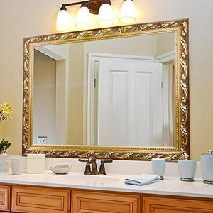 "Family Deals Rectangular Wall Mounted Mirrors (32""x24"", Bronze)"