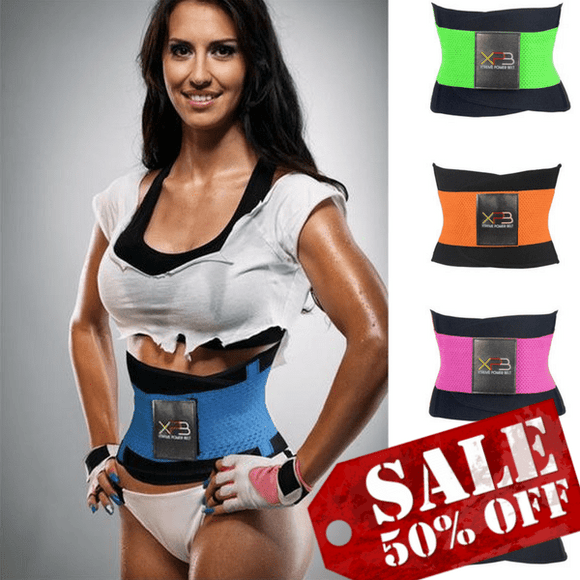 Xtreme Thermo Power Belt Waist Trainer SALE - Family Deals