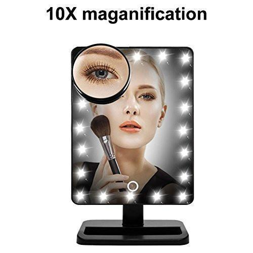 Waneway Makeup Mirror With 20 Led Light 12 Inch Large