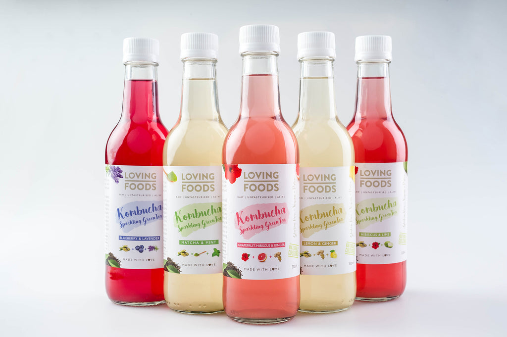 New Kombucha Flavours - Now In Stock!