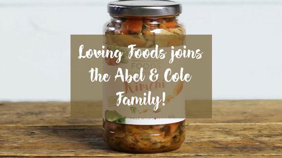 Loving Foods starts supplying Abel & Cole!