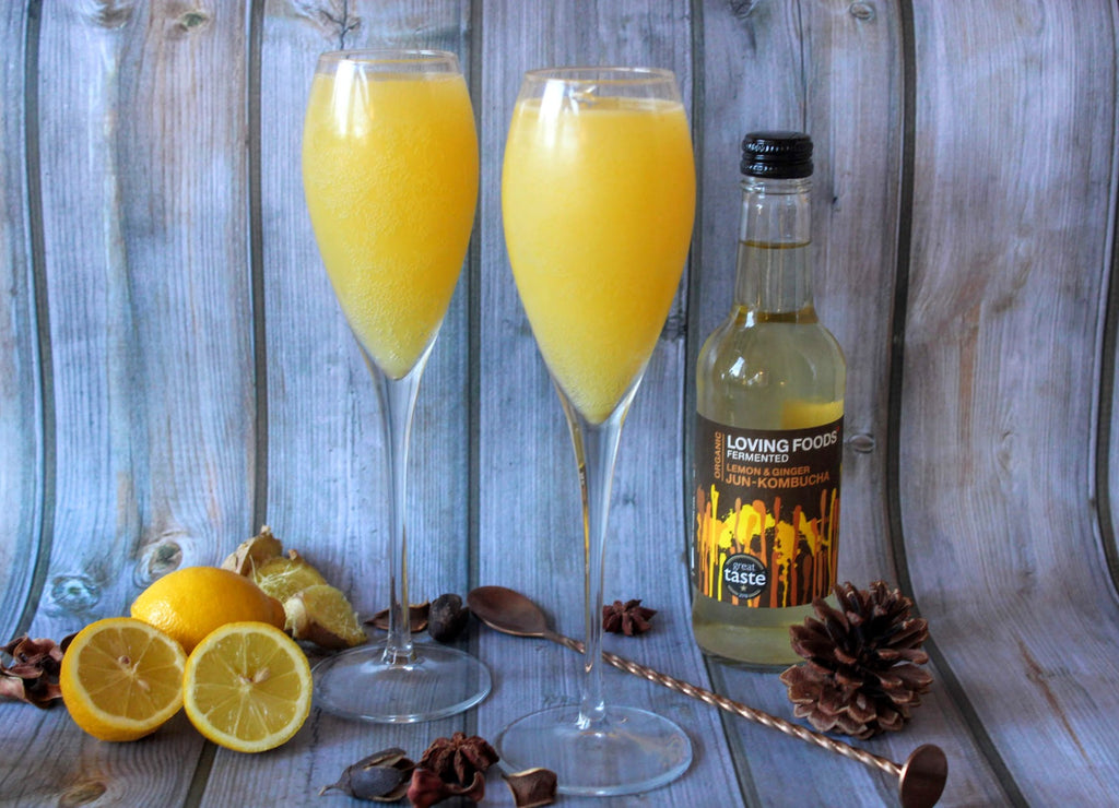 Lemon & Ginger Bucks Fizz