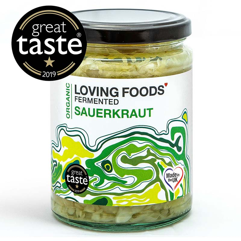 Award Winning Loving Foods Organic Sauerkraut