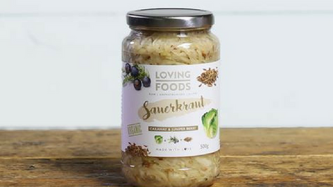 Loving Foods Joins the Abel & Cole Family - Sauerkraut