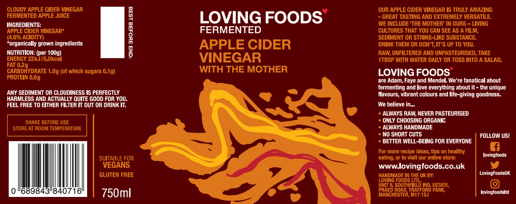 Apple Cider Vinegar (With The Mother)
