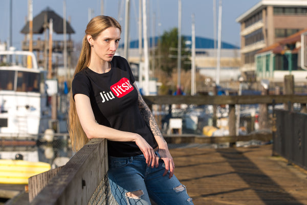 Womens - Jiu Jitsu - YouTube - T-Shirt