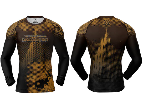 Rash guard - Brown - Ragnarok - Long Sleeve