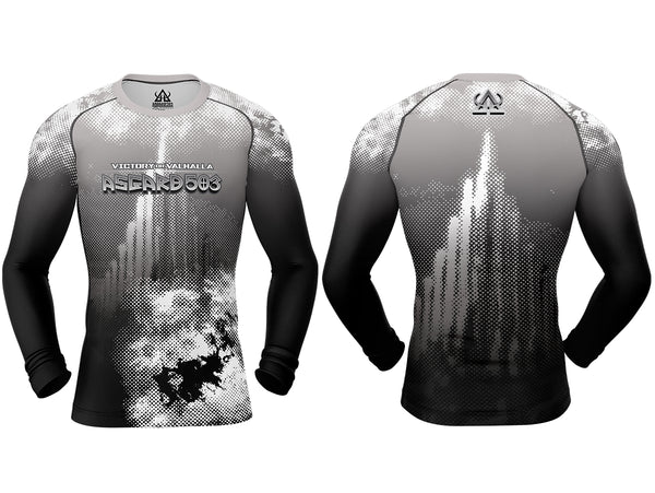 Rash guard - White - Ragnarok - Long Sleeve