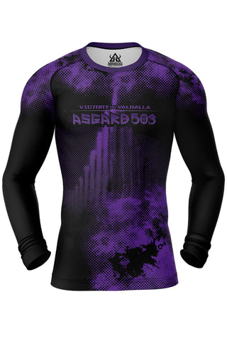 Rash guard - Purple - Ragnarok - Long Sleeve