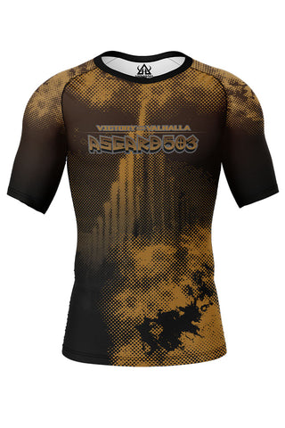 Rash guard - Brown - Ragnarok - Short Sleeve