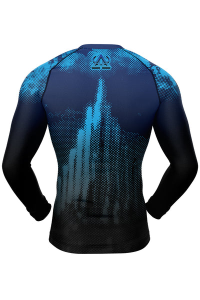 Rash guard - Blue - Ragnarok - Long Sleeve