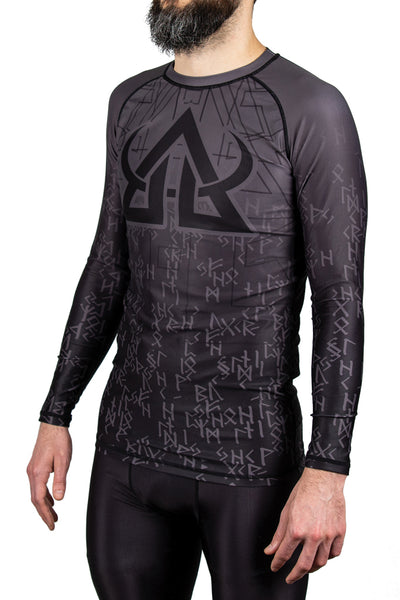 Rash guard - Matrix Runes - Long Sleeve