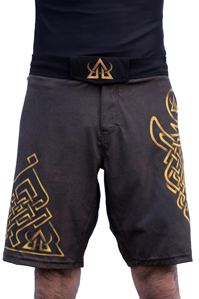 Asgard503 mma performance shorts Brown JiuJitsu