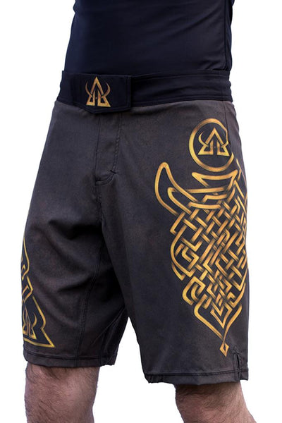 MMA shorts Brown JiuJitsu Asgard503