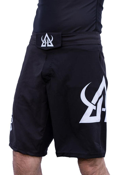 mma shorts black asgard503 crossfit