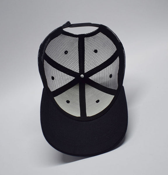 Trucker Hat - Black and White