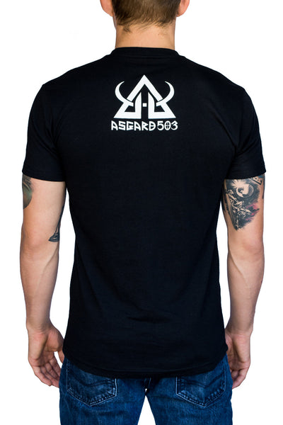 Triangle Choke - Jiu Jitsu - T-Shirt asgard503 60/40 cotton polyester