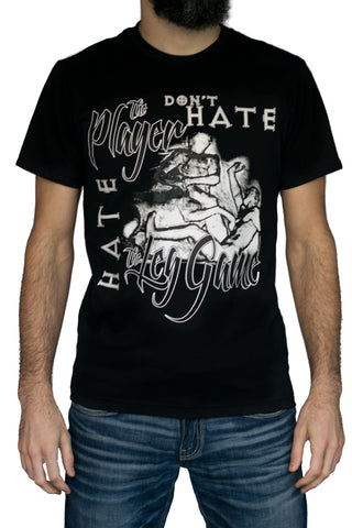 Hate the Leg Game - T-Shirt by asgard503