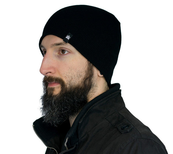 buy Beanie Black Asgard503 cold weather