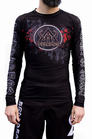 Rash guard - Grappling Vikings - Long Sleeve