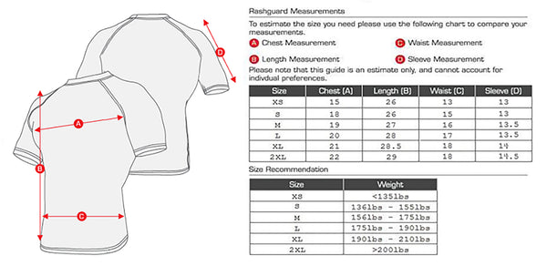 Rash guard - Purple - Ragnarok - Short Sleeve