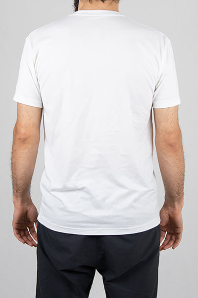 Leg Lock - White - T-Shirt