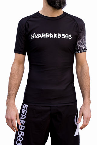 Buy rashguard- For Fitness, Training, Athlete or workout runes sleeve asgard503