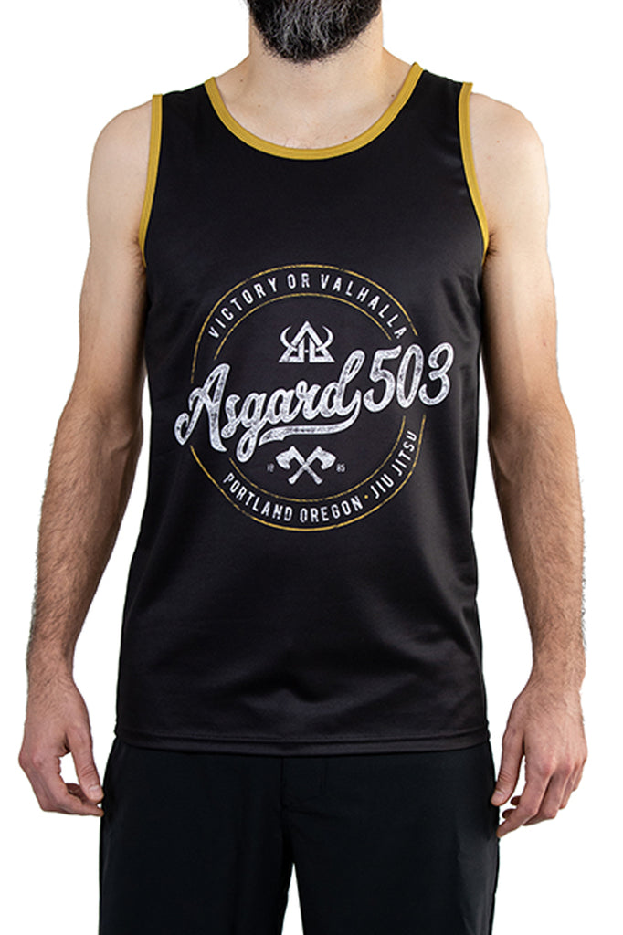 Asgard503 - Tank Top - Black Vintage