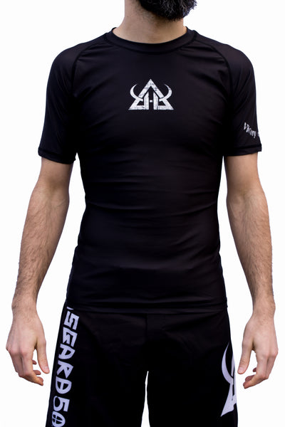 Rash guard - Victory Or Valhalla - Short Sleeve