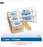 Disinfecting wipes by Sono