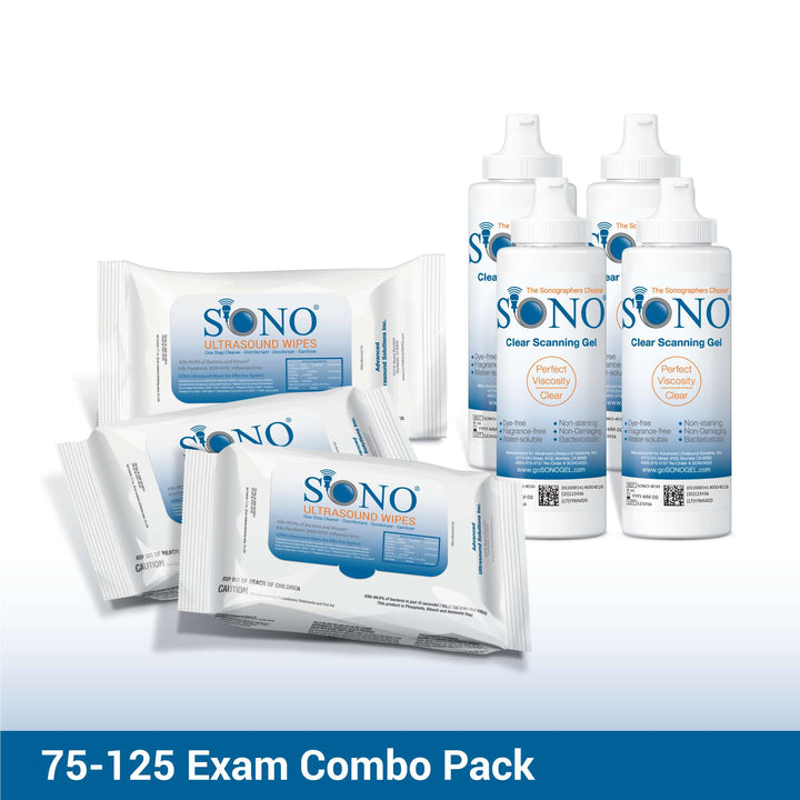 Disinfecting Wipes for Ultrasound Equipment + Gel by SONO