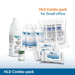 Small Combo Pack with Resert High Level Disinfectant
