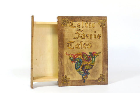 "Book Box ""Celtic Faerie Tales"""