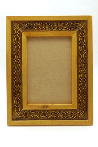 "5"" x 7"" Frame ""Celtic Knot Gold"""