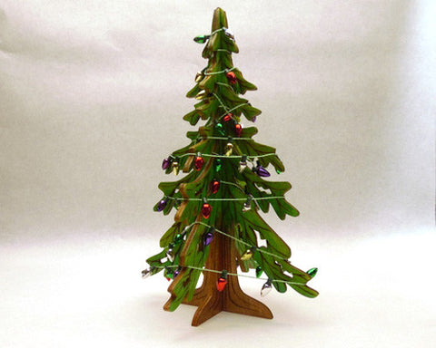 Christmas Tree Wooden Stand-Up