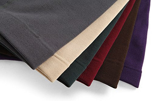 6-Pack: Women's American Leggings Seamless Fleece Lined Leggings - Assorted Colors - Chic128