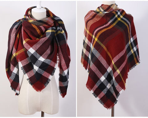 Cashmere fashion Triangle Scarf - Chic128