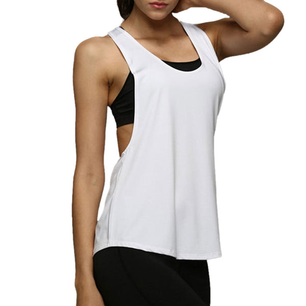 Crop Top Sleeveless Wicking T-shirt - Chic128