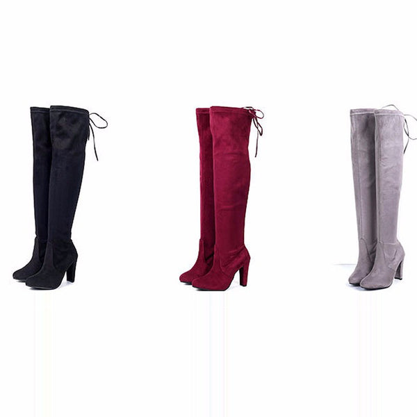 Women's Gorgeous Over-The-Knee Boots - Chic128