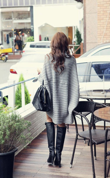 Solid Wild Knitted Sweaters - Chic128