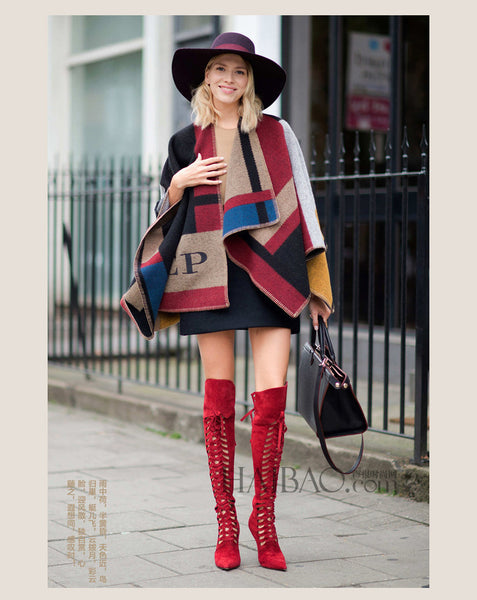 Olivia Palermo Runway Catwalk Street Snap Knitted Cardigan - Chic128