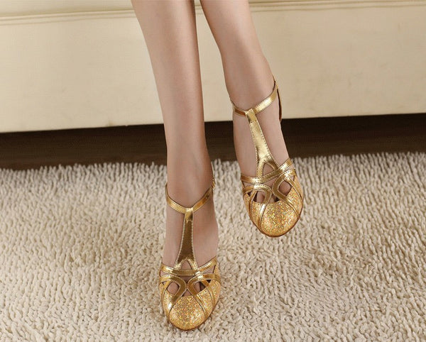 High Heels 6cm Gold Silver - Chic128