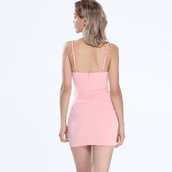 Sexy Cutout Hollow out Sleeveless Bodycon - Chic128