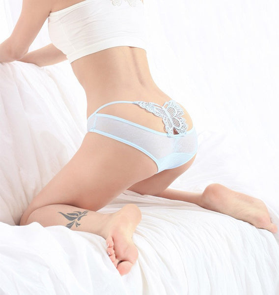 Sexy briefs lace Butterfly erotic underwear - Chic128