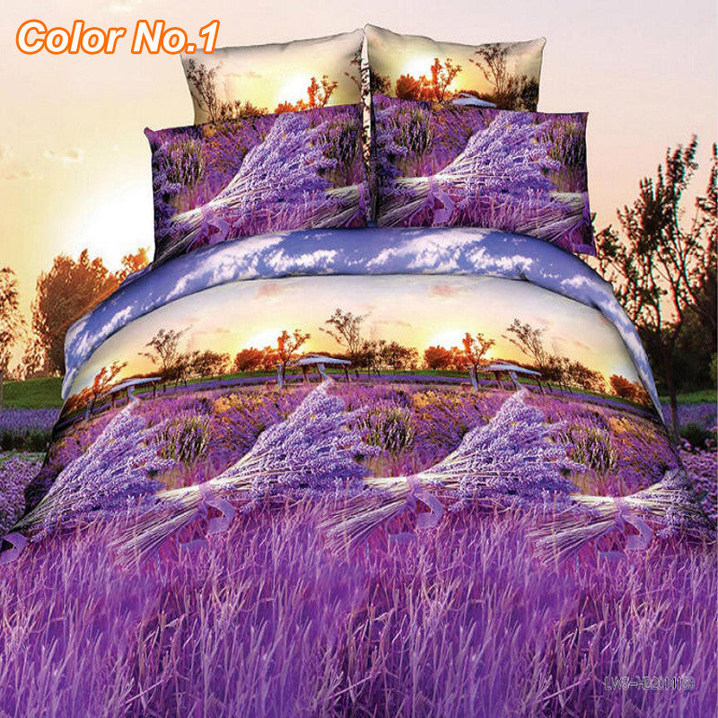 3D Comforter Bedding Sets - Chic128