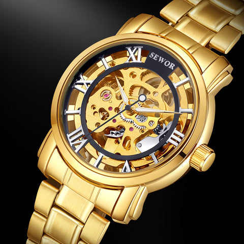 Luxury Brand Hand Wind Watches - Chic128