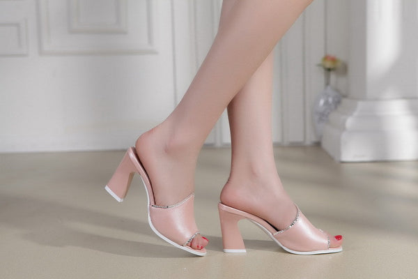 Sexy Peep toe Shoes - Chic128