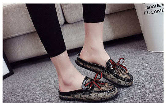 Round Head Flat Shoes