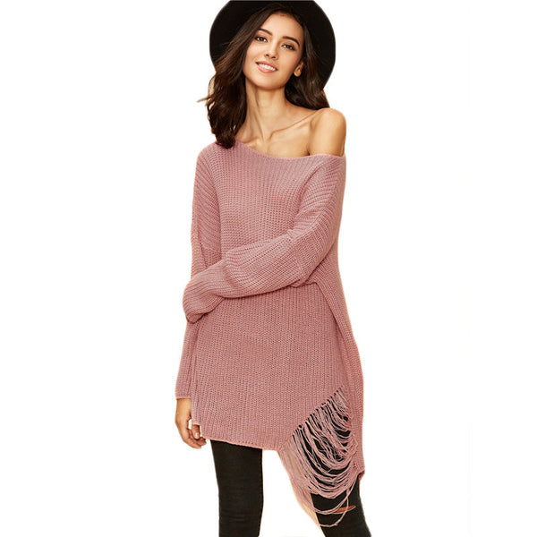 Women Loose Tops Casual Knitwear - Chic128