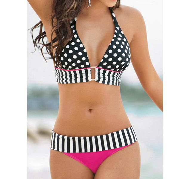 Sexy Women Swimwear Neoprene Bikini Set - Chic128
